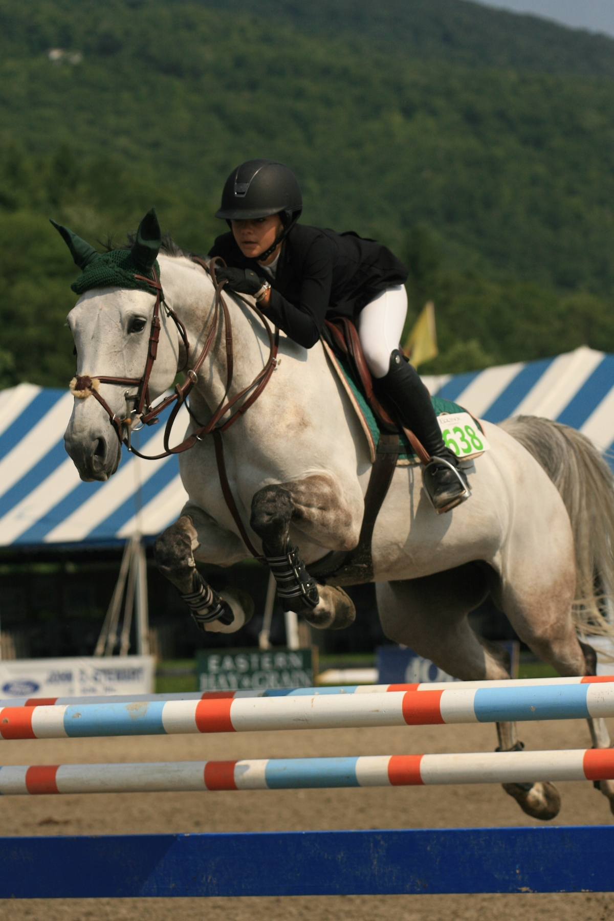 Hannah Lupica and Hypnose Van Paemel won the $1,500 Marshall & Sterling Children's Jumper Classic on July 12 at the Vermont Summer Festival in East Dorset, VT.<br><b>Photo by <a href='http://www.photoreflect.com/home/default.aspx' target='_blank'>David Mullinix Photography</a></b>