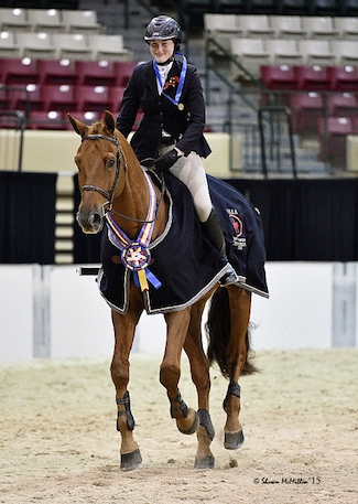 Devan Graham and Sandro Sky, winners of the 2015 MHSA Gittings Horsemanship Finals. <br><b>Photo by <a href='http://www.shawnmcmillen.com/' target='_blank'>Shawn McMillen Photography</a></b>
