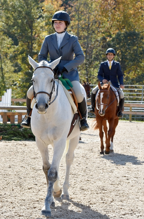 Enjoying the Fall weather at the WIHS Regional Horse Show & USHJA Zone 3 Championship at Prince George's Equestrian Center in Upper Marlboro, MD. <br><b>Photo by <a href='http://www.shawnmcmillen.com/' target='_blank'>Shawn McMillen Photography</a></b>
