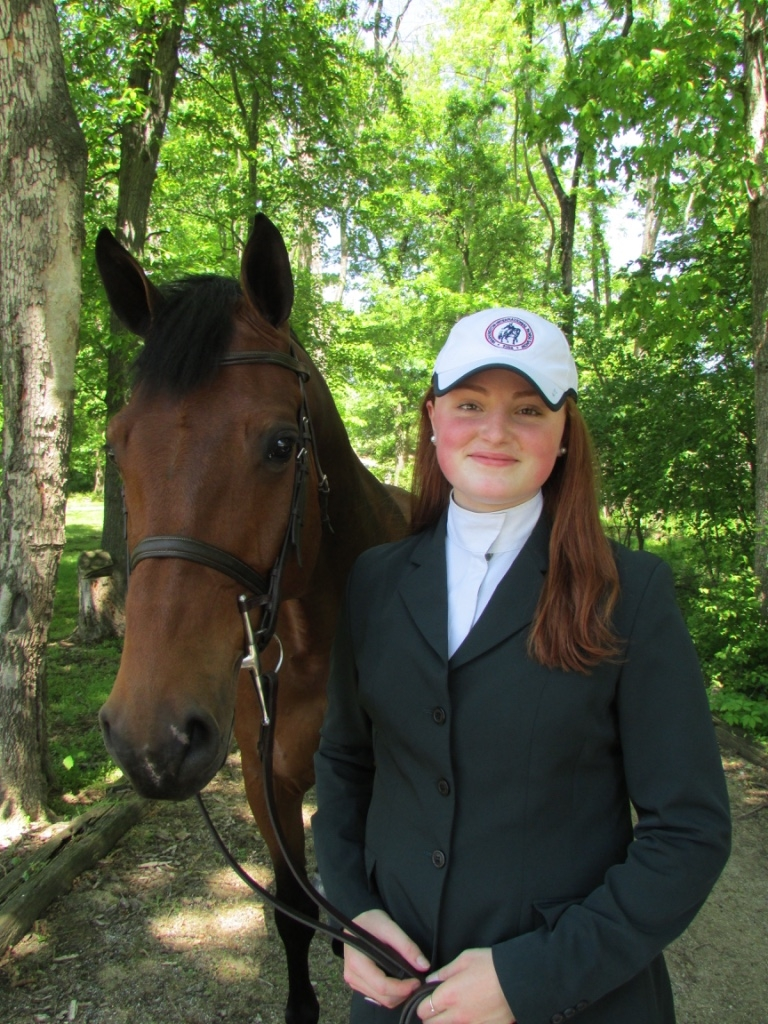 Young equestrian, Jenna Zimmerman, takes up the reins as Youth Ambassador of the 2017 Washington International Horse Show. <br><b>Photo provided by WIHS</b>