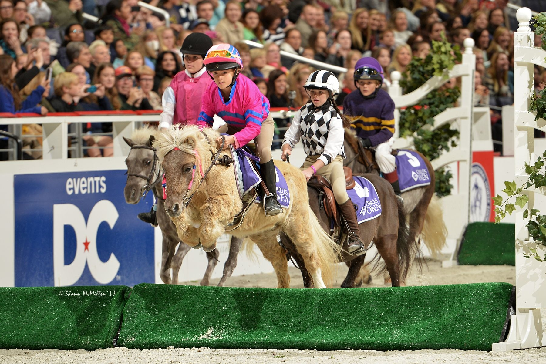 Junior Jockeys will compete in the WIHS Shetland Pony Steeplechase Championship Series, presented by Charles Owen, on Thursday and Saturday nights.<br><b>Photo by <a href='http://www.shawnmcmillen.com/' target='_blank'>Shawn McMillen Photography</a></b>