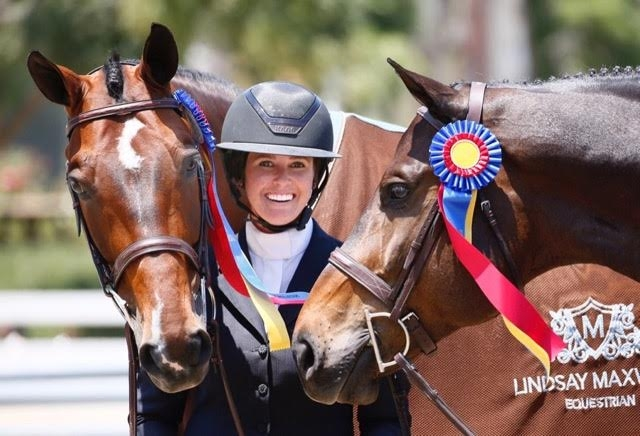 Lindsay Maxwell, an equestrian herself, will give a derving young rider the opportunity to participate in the Lindsay Maxwell Charitable Fund WIHS Equitation Finals through an equitation grant.<br><b>Photo by Captured Moment Photography</a></b>