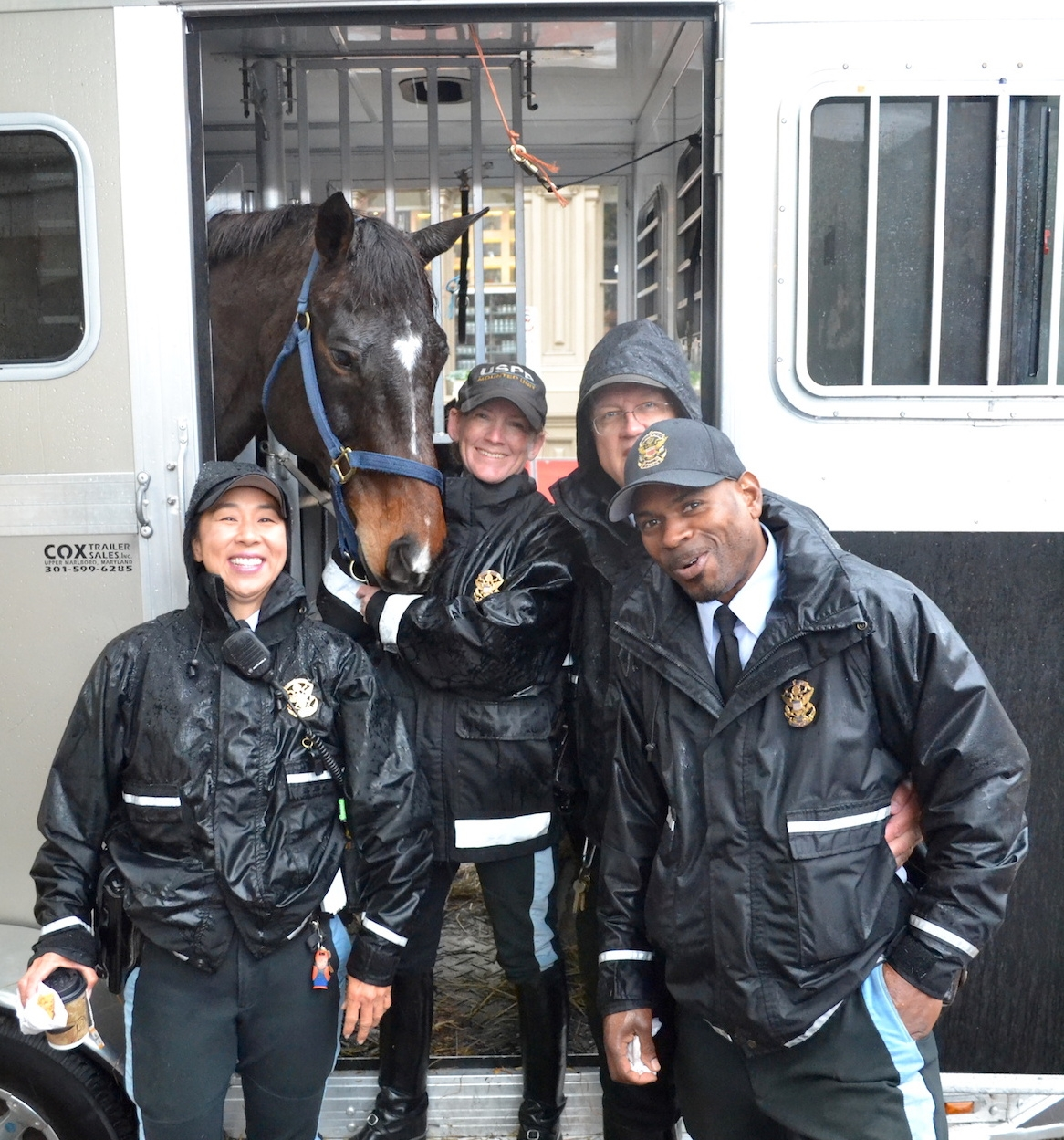 The annual WIHS Breakfast with the Mounted Police and their horses. <br><b>Photo by <a href='http://www.jumpmediallc.com/'>Jump Media</a></b>