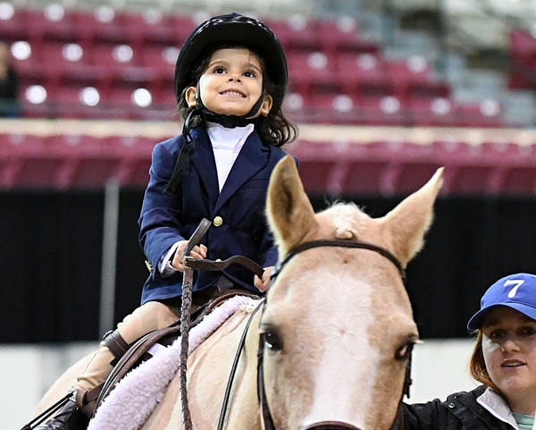 All smiles from Lead Line competitors at the WIHS Regional Horse Show.<br><b>Photo by <a href='http://www.shawnmcmillen.com/' target='_blank'>Shawn McMillen Photography</a></b>