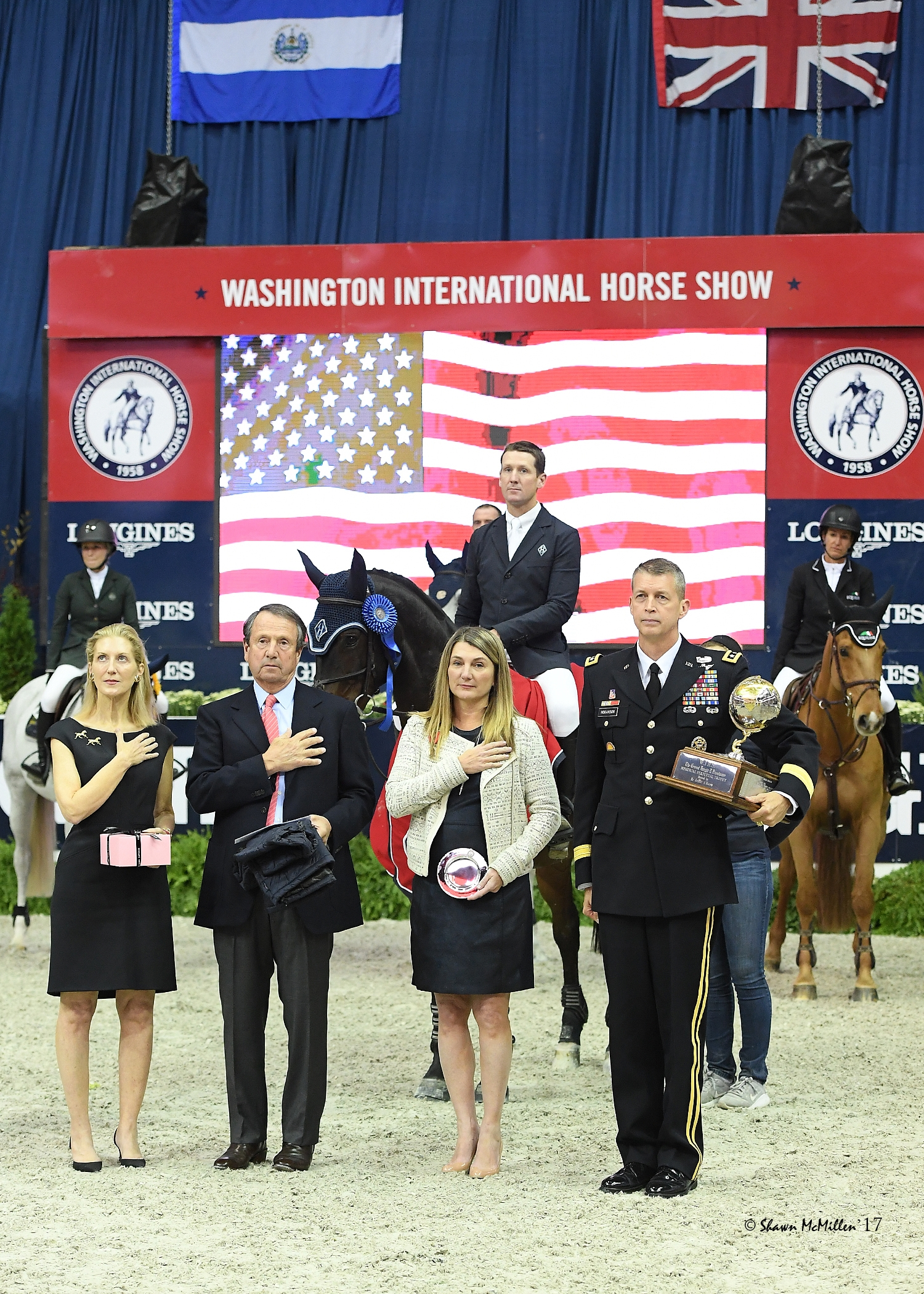 McLain Ward rode HH Carlos Z to won final victory on Friday night, winning the $50,000 International Jumper Speed Final before announcing the gelding's retirement. <br><b>Photo by <a href='http://www.shawnmcmillen.com/'target='_blank'>Shawn McMillen Photography</a></b>