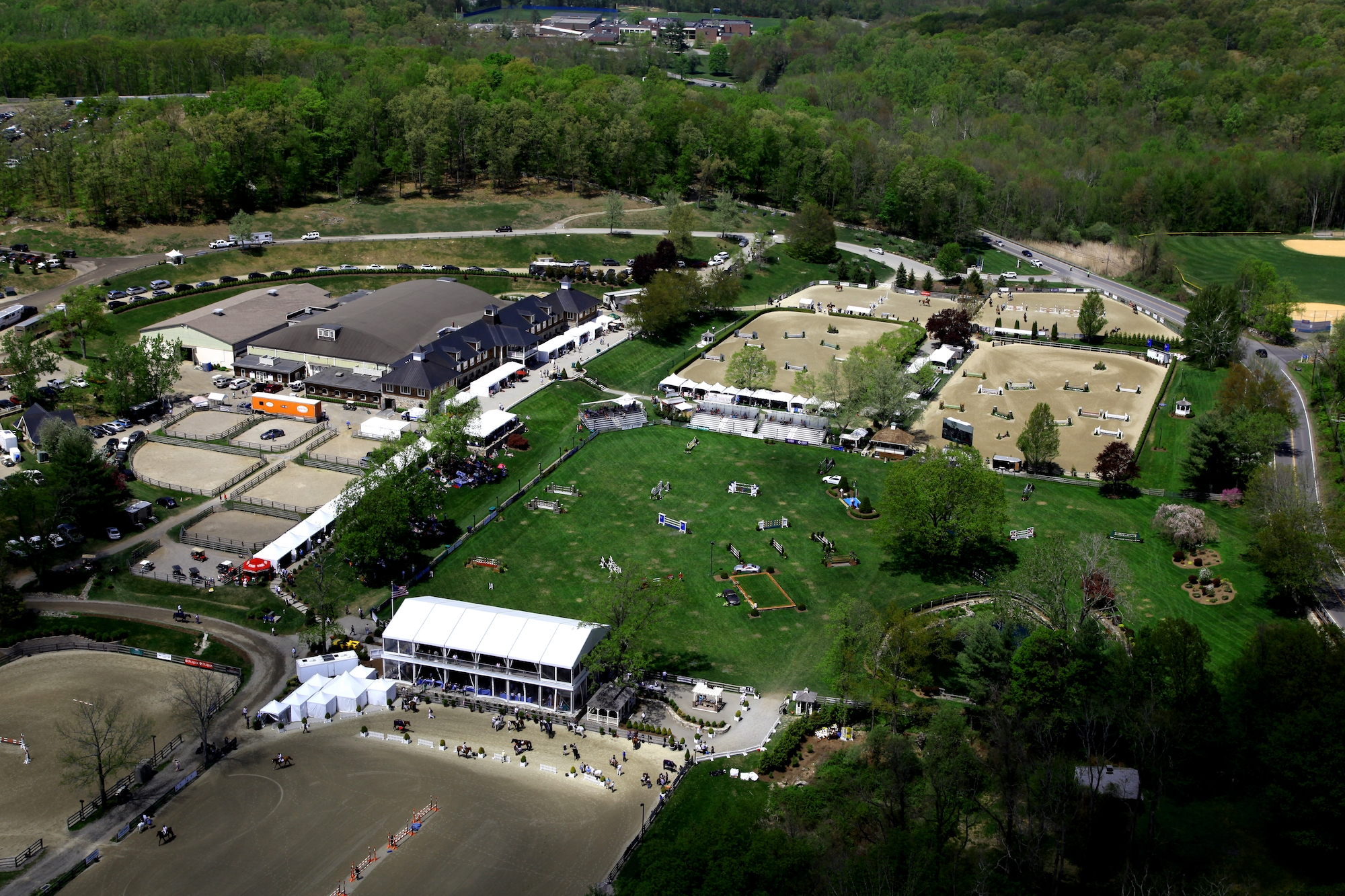 Old Salem Farm, located in North Salem, NY, will host the 2018 Adequan®/FEI North American Youth Championships, presented by Gotham North, on August 1 through 5. <br><b>Photo by Stephen Roe</a></b>
