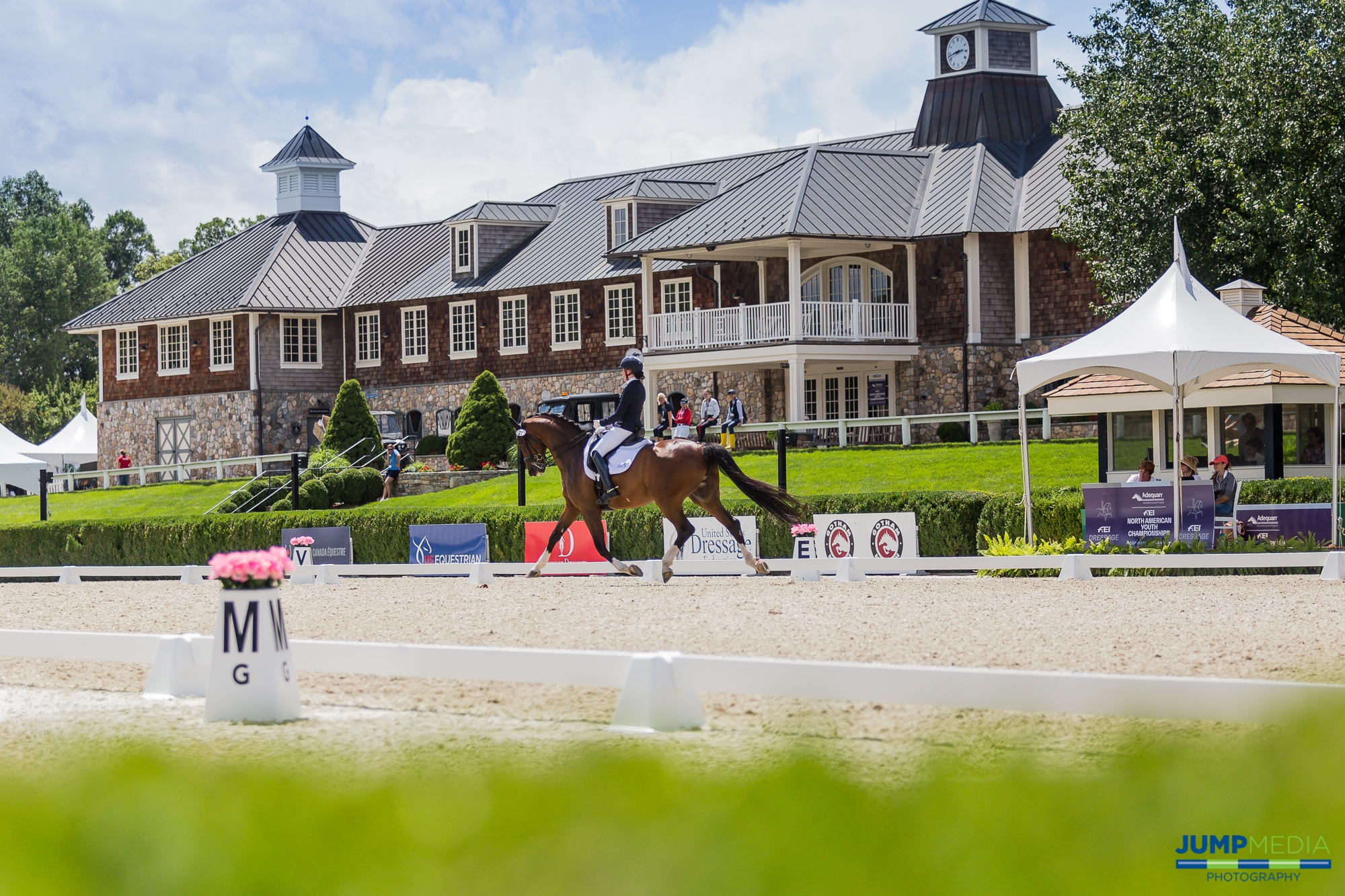 The 2018 Adequan®/FEI North American Youth Championships, presented by Gotham North, featured five days of dressage and show jumping competition hosted at Old Salem Farm in North Salem, NY.<br><b>Photo by <a href='http://www.jumpmediallc.com/'>Jump Media</a></b>
