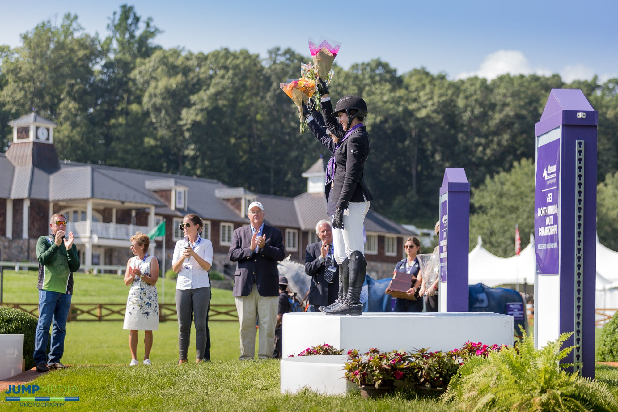 Old Salem Farm, located in North Salem, NY, hosted the 2018 Adequan®/FEI North American Youth Championships, presented by Gotham North, from August 1-5.<br><b>Photo by <a href='http://www.jumpmediallc.com/'>Jump Media</a></b>
