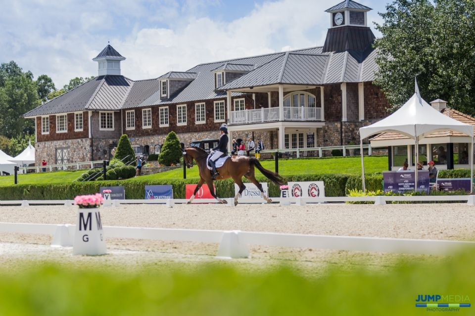 The 2019 Adequan®/FEI North American Youth Championships, presented by Gotham North, features five days of dressage and show jumping competition hosted at Old Salem Farm in North Salem, NY.<br><b>Photo by <a href='http://www.jumpmediallc.com/'>Jump Media</a></b>