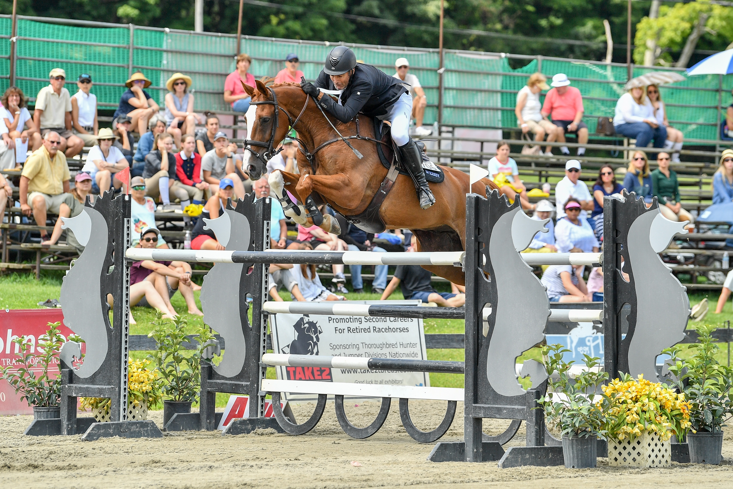 Second place in the $30,000 Manchester & the Mountains Grand Prix went to New Zealand's Kirk Webby and Brando du Rouet.<br><b>Photo by <a href='https://www.andrewryback.com/' target='_blank'>Andrew Ryback Photography</a></b>