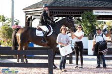 Equis Boutique Best Presented Horse Award Goes to Balou 660