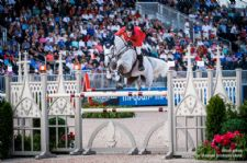 NetJets® U.S. Jumping Team Has Strong Start in Opening Day at FEI World Equestrian Games™ Tryon 2018