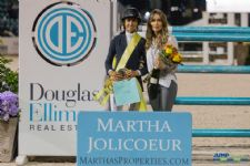 Laura Chapot Claims Martha Jolicoeur Leading Lady Rider Title
